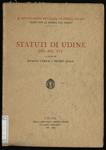 Statuti di Udine del secolo 14.