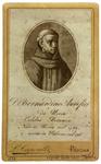 P. Bernardino Aurifici da Ucria - recto