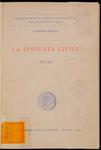 La sentenza civile. Studi
