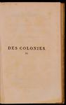 Des colonies, et de la revolution actuelle de l'Amerique; par M. de Pradt, ... - vol. 2
