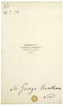 Georg. Bentham - verso