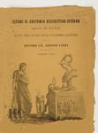 Lezioni di Anatomia descrittiva-esterna applicata alle Arti Belle ad uso degli Allievi della R. Accademia Albertina per il Dottore Cav. Alberto Gamba