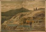 Die heissen Mammuth-Quellen im Yellowston Park