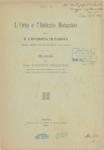 L'orto e l'istituto botanico della R. Universita di Padova nell'anno scolastico 1915-1916. relazione