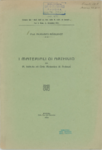 I materiali di archivio del R. Istituto ed Orto Botanico di Padova
