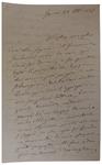 Lettera di A. Baccarini a D. Turazza. 28 ottobre 1875