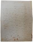 Lettera di A. Baccarini a D. Turazza. 3 novembre 1875