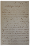 Lettera di A. Vescovali a D. Turazza. 23 giugno 1875