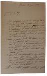 Lettera di P. Barilari a D. Turazza. 21 gennaio 1875