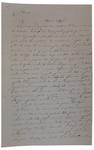 Lettera di A. Cavalletto a D. Turazza. 16 ottobre 1875