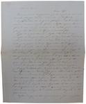 Lettera di A. Cavalletto a D. Turazza. 18 ottobre 1875