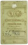 V. F. Brotherus - verso