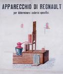 Apparecchio di Regnault per determinare i calori specifici