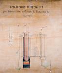 Apparecchio di Regnault per determinare il coefficiente di dilatazione del mercurio