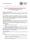 Il progetto di digitalizzazione delle lettere di Domenico Turazza. relazione