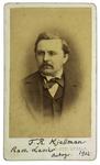 F. R. Kjellman - recto