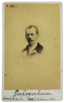 G. v. Lagerheim - recto