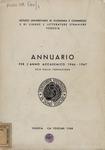 Annuario per l'anno accademico 1966-67. XCIX dalla fondazione