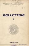 Bollettino Nuova Serie n. 1 - maggio 1957