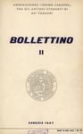 Bollettino Nuova Serie n. 2 - ottobre 1957