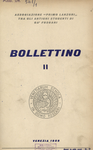 Bollettino Nuova Serie n. 2 - ottobre 1958