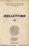 Bollettino Nuova Serie n. 3 - dicembre  1958