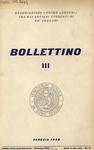 Bollettino Nuova Serie n. 3 - dicembre 1959