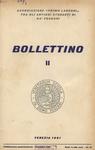 Bollettino Nuova Serie n. 2 - settembre 1961