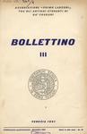 Bollettino Nuova Serie n. 3 - dicembre 1961