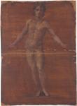 Figura maschile vista di fronte
