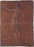 Figura maschile vista da dietro