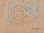 Planimetria del regio Orto Botanico nell'anno 1887