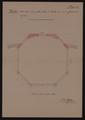 Pianta della nuova serra pella palma di Goethe come venne effettivamente eseguita. Allegato D