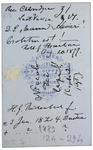 H. G. Reichenbach - verso