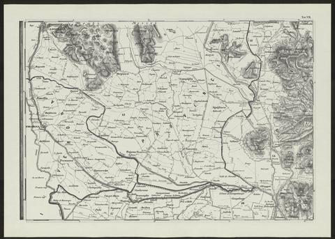Tavola 7 confini occidentali della provincia di padova e for Arredamenti padova e provincia
