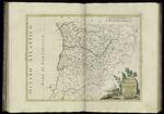 Il Portogallo, cioè  le provincie di Entre Douro, Minho, Traz-os-Montes e Beira (1776).