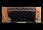 Prospetto laterale del modello: 1 - Ponte in legno sul Piave a Capodiponte (BL)
