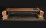 Vista tridimensionale del modello: 2 - Viadotto ad arco su travi sagomate in ghisa
