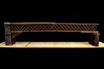 Prospetto del modello: 3 - Ponte bavarese a traliccio tipo Howe