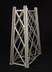 Vista tridimensionale  del modello: 5 - Segmento della pila metallica  di un viadotto