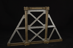 Prospetto del modello: 6 - Pila metallica piana d ponte per strada ordinaria