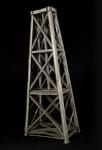Vista tridimensionale del modello: 7 - Segmento di pila  del viadotto di Garabit (Eiffel e Boyer, 1880-4)