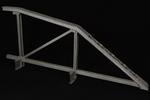 Vista laterale interna del modello: 13 - Travata poligonale tipo Schwedler