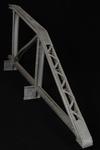 Vista posteriore interna del modello: 13 - Travata poligonale tipo Schwedler