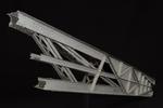 Vista anteriore del modello: 15 - Cerniera all'imposta dell'arco del viadotto di Garabit, Eiffel e Boyer, 1884
