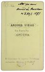 Amedeo Rostan - verso