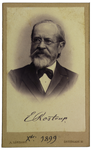 E. Rostrup - recto