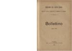 Bollettino [n. 5] giugno 1900