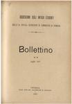 Bollettino n. 8, luglio 1901