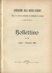 Bollettino n. 21, luglio - settembre 1905